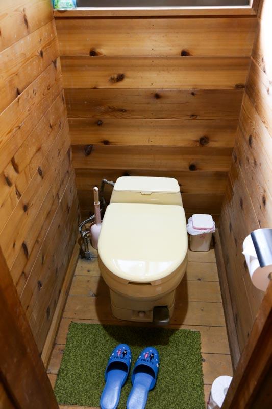 ペットも泊まれる森の小さなリゾート村 桜清水コテージ(トイレ)