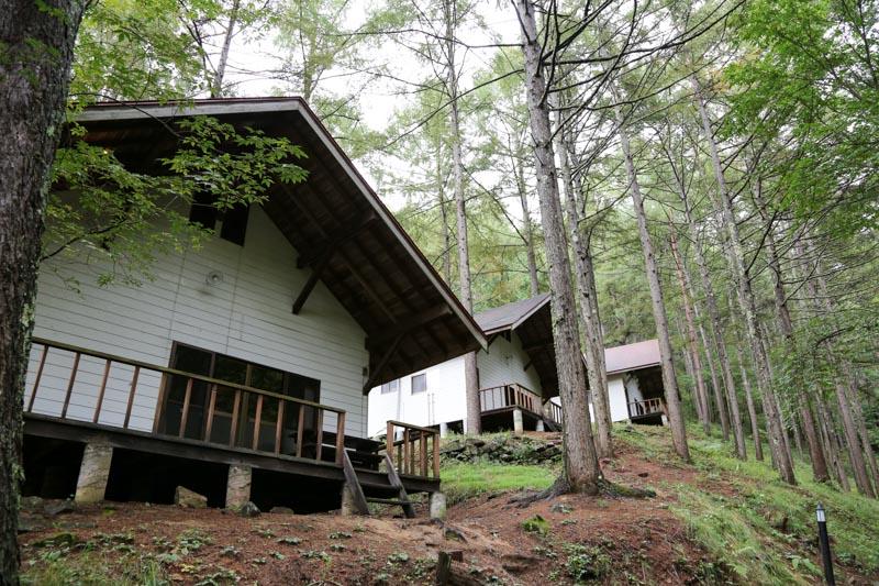 ペットも泊まれる森の小さなリゾート村 桜清水コテージ