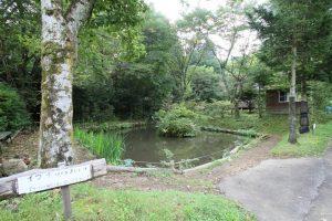 オートキャンプ場「赤倉の森」釣り堀