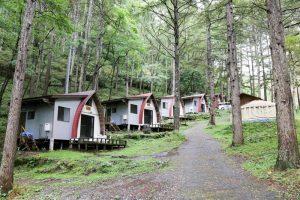 ペットも泊まれる森の小さなリゾート村 桜清水コテージ(コテージ)
