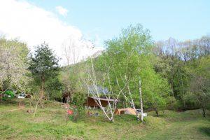 キャンプ・信州まるべりーオートキャンプ場